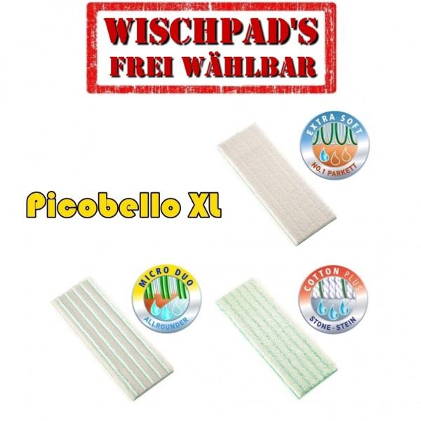 Leifheit Picobello XL Wischpad Wischbezüge Ersatzbezug - Auswahl XL Wischpads