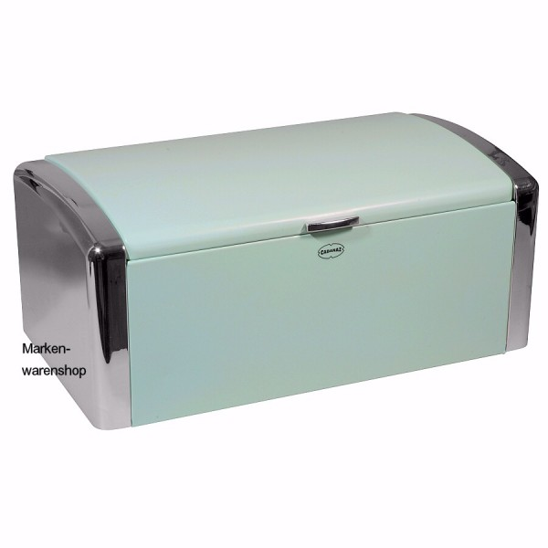 Cabanaz - Brotkasten Ice-Blau Brotbox Brotdose Breadbox Metall (1201325)