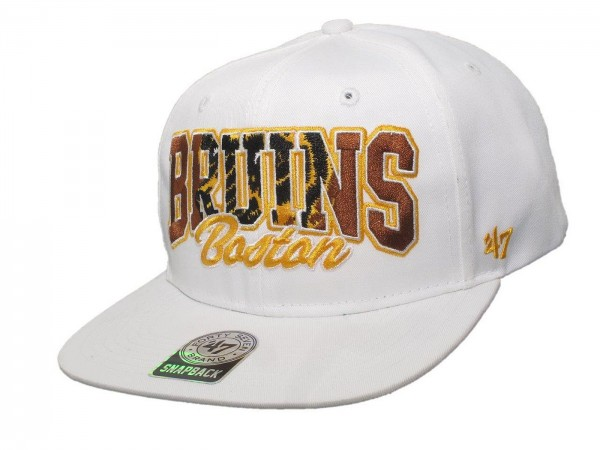 "47 Brand - NHL Cap Basecap Kappe Mütze Eishockey ""Boston Bruins"" (Nr. 119)"