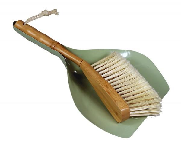 Cabanaz - Kehrset Kehrschaufel Handfeger grün 1201131