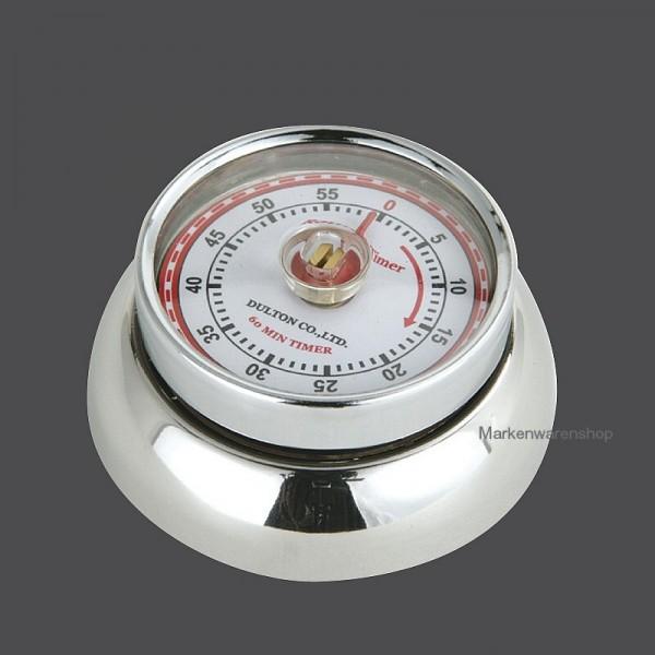"""Zassenhaus - Küchentimer magnetisch """"Speed"""" chrom 072303 Kurzzeitmesser Eieruhr"""