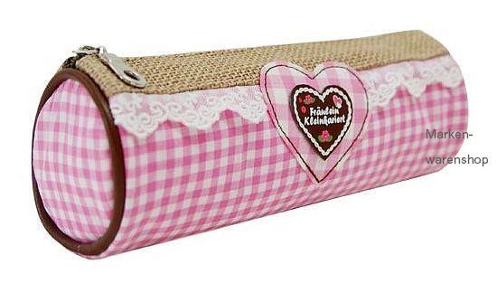 Trend Import Hüttengaudi Mäppchen rosa 10429700 Federmäppchen Schlampermäppchen