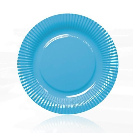 Contento - Picnic Fast Food Teller Ø23cm blau (656450) Grillteller Campingteller