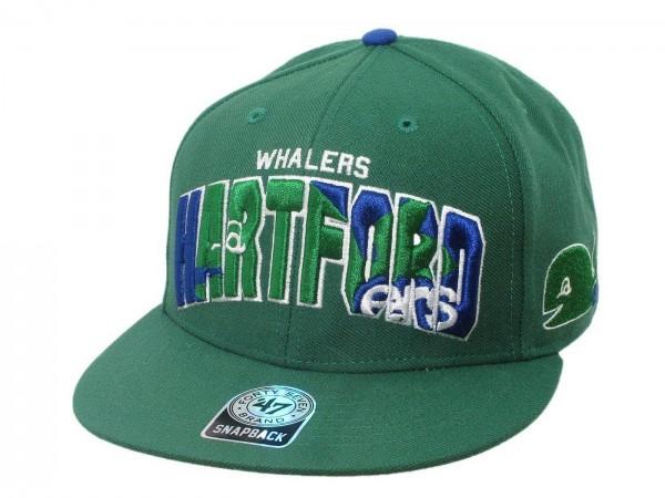 "47 Brand - NHL Cap Basecap Kappe Mütze Eishockey ""Hartford Whalers"" (Nr.72)"