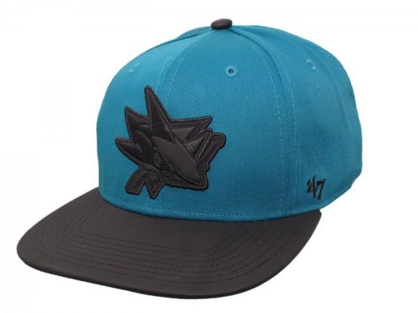 "47 Brand - NHL Cap Basecap Kappe Mütze Eishockey ""San Jose Sharks"" (Nr. 105)"