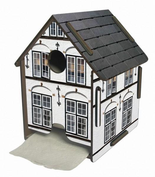 Werkhaus ToPa Haus Weiß PP5109 WC Rollen- Klopapier- Toilettenpapier- Halter
