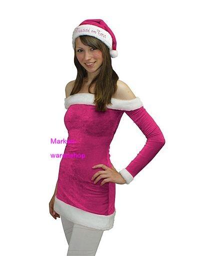 Tussi on Tour, Weihnachtskleid Weihnachtskostüm X-Mas Dress Kleid Gr.S