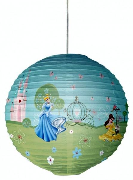 "Decofun Kinderzimmer Papier Lampenschirm ""Disney Princess"" Laterne Papierlampe"