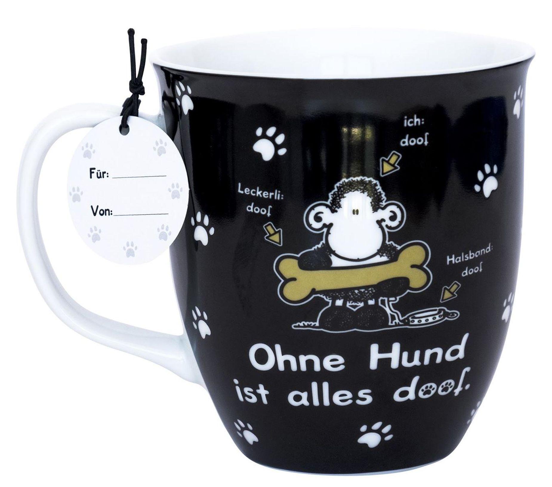 """Kaffee Sheepworld Geschenk Tasse Bus Bulli Urlaub /""""Einfach machen/"""" 46419 Büro"""