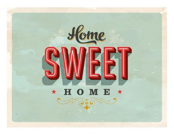 """Matteo Tischmatte """"Sweet Home"""" 30x40cm Vinyl 866780 Platzmatte Platzset Tischset"""