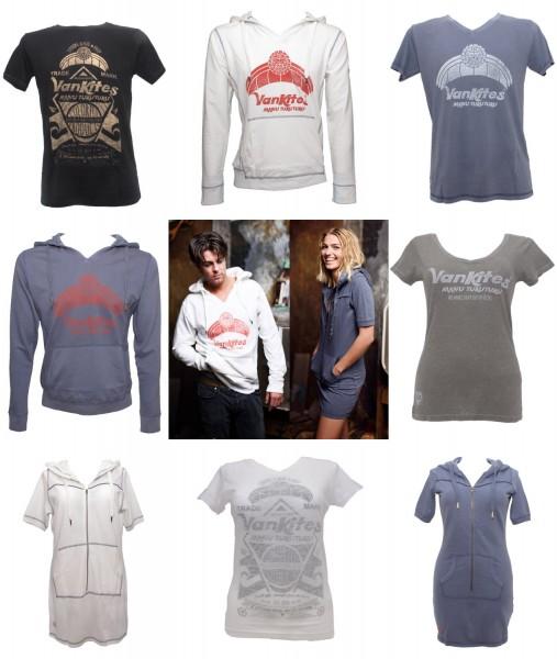 VanKites T-Shirt Kleid Sweatshirt Hoodie Street-Wear