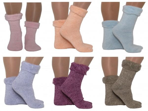 Warme Socken Thermo Mega Winter Socken Pastell 35-38