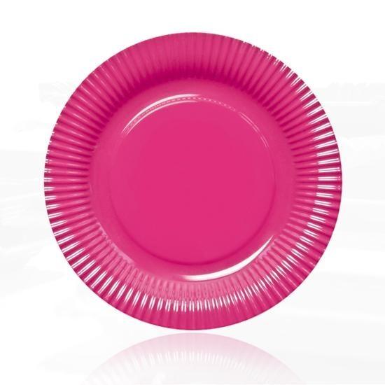 Contento - Picnic Fast Food Teller Ø23cm pink (656453) Grillteller Campingteller