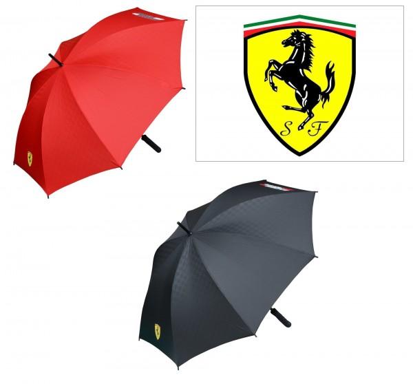 Scuderia Ferrari Groß Regenschirm Rot Schwarz Motorsport Formel 1 mit Tasche