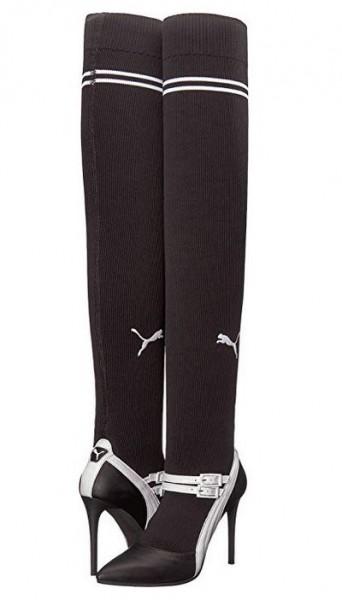 PUMA by Rihanna Knitted Mary Jane High Heel Pumps