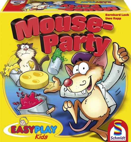NEU Schmidt Spiele Mouse-Party Brettspiel Kartenspiel 40473