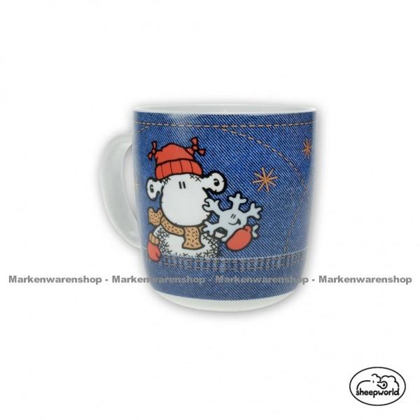 """Sheepworld - Tasse """"Blue Wool"""" 49394 Kaffeetasse Teetasse Kakaotasse"""