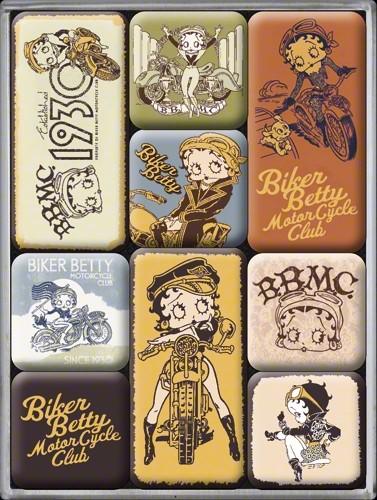 Nostalgic Art- Magnetset Betty Boop Biker Betty, Magnete, Motivmagnete