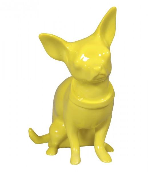 Cabanaz The Zoo - Spardose Hund Chihuahua Gelb (1101127) Sparbüchse Sparschwein
