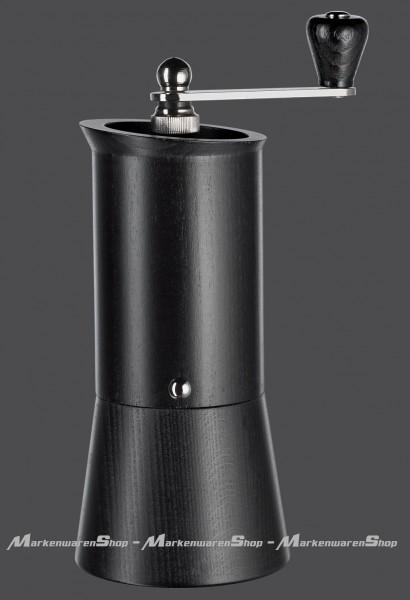 """Zassenhaus - Kaffeemühle """"Caffettiera"""" (040197) Buche schwarz Espressomühle"""