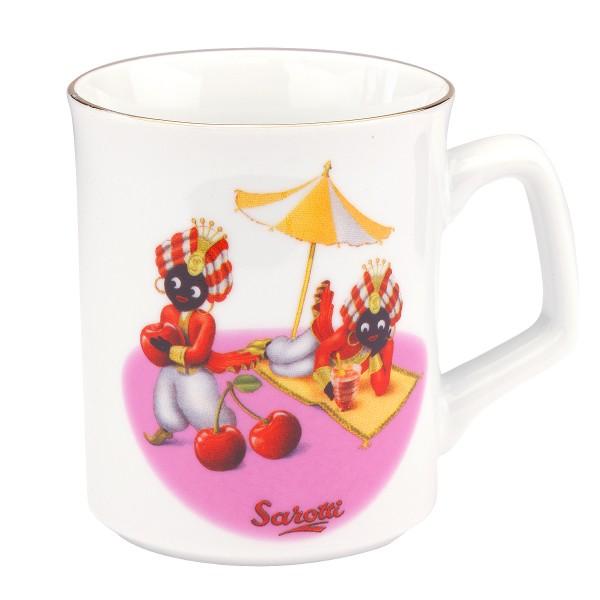 Reutter Porzellan - Sarotti Becher (87.064/0 Pink) Kaffeetasse Tasse