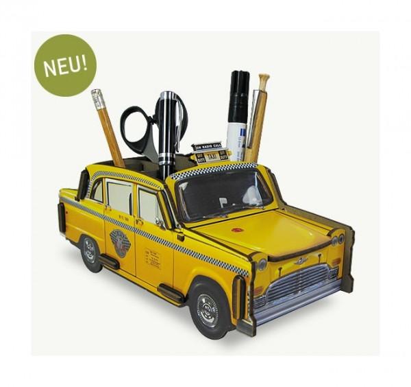Werkhaus - Stifteköcher Taxi New York Yellow Cab (WE2018) Stiftehalter Stiftebox