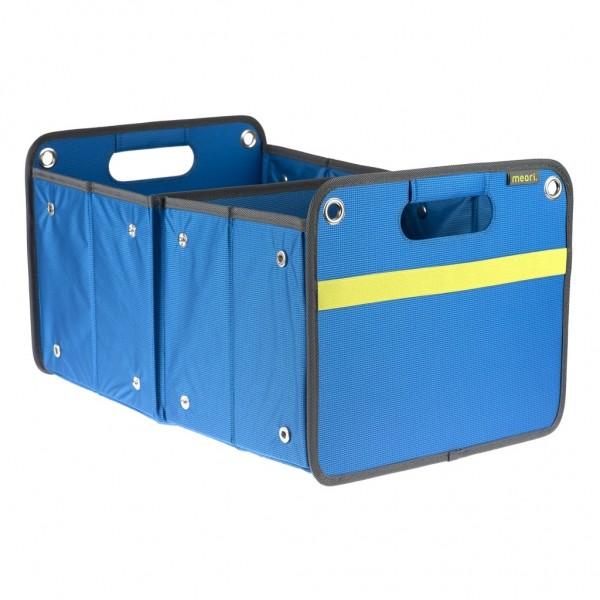 Meori - Faltbox Outdoor Aufbewahrungsbox Klappbox Mittemeerblau A100073