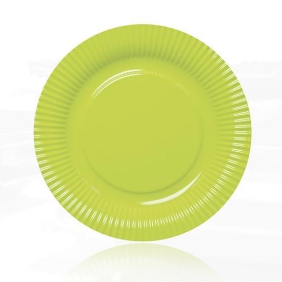 Contento - Picnic Fast Food Teller Ø23cm grün (656452) Grillteller Campingteller