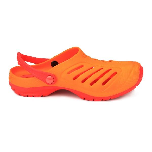 Cloggens 34-35 Orange Cloggs Sandalen Badeschuhe Schwimmschuhe Strandschuhe
