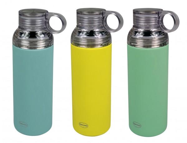 Auswahl - Cabanaz Edelstahl Isolierflasche Thermoskanne Thermosflasche mit Beche