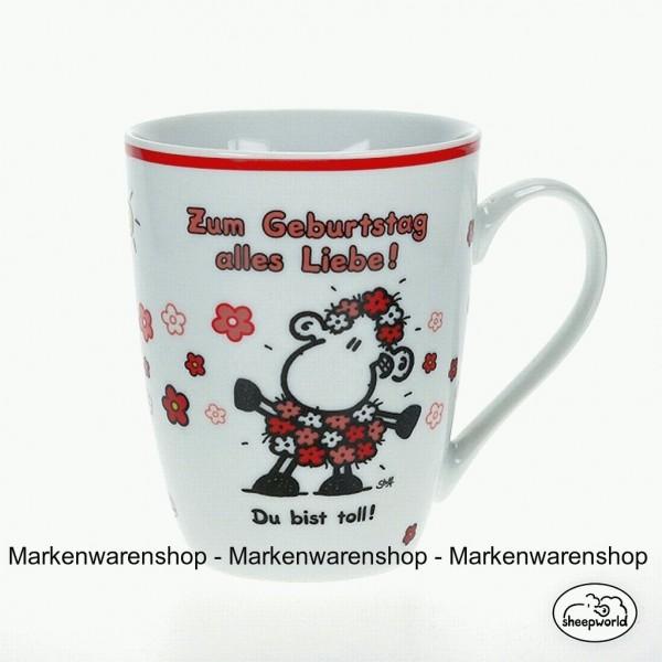 Sheepworld Lieblings - Tasse Zum Geburtstag alles Liebe Kaffeetasse 59206 Nr.6