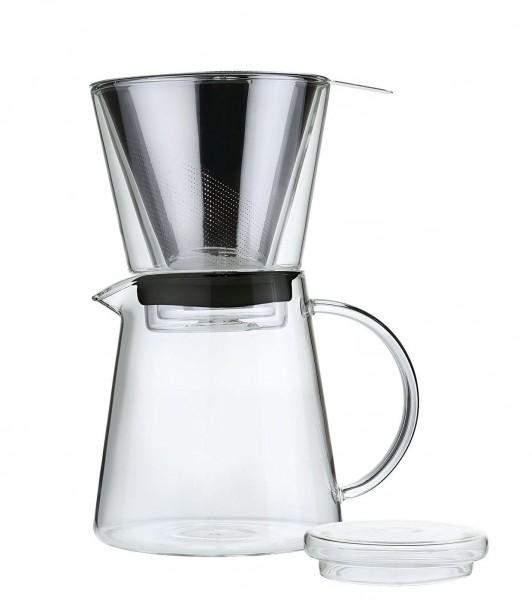 """Zassenhaus - Kaffeezubereiter """"Coffee Drip"""" 750ml Kaffeebereiter 045000 Glas"""