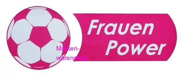 Tussi on Tour, Frauen Fußball WM Magnetschilder 2er Set