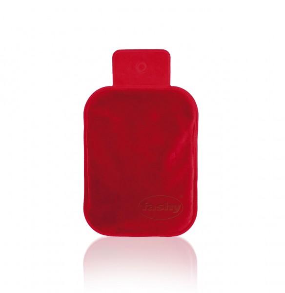 Fashy - Wärmekissen mit Moorgel Moorgelkissen mit Velour Oberfläche Rot (6300)