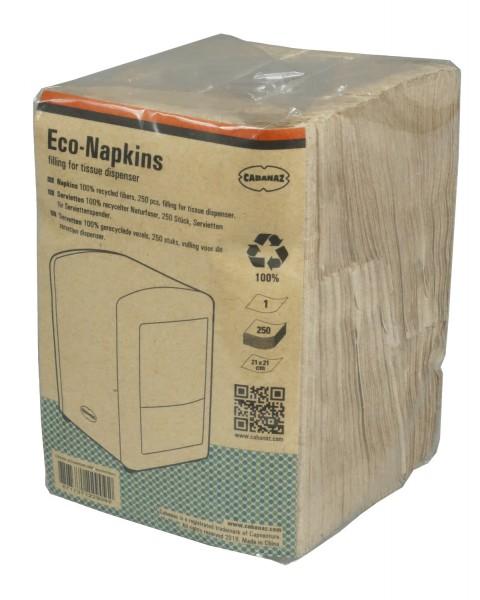 Servietten für Cabanaz Retro-Serviettenspender aus Recyclingpapier Menge wählbar