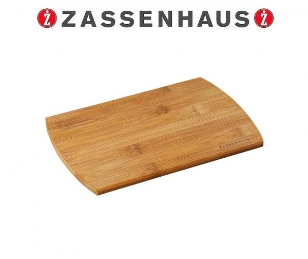 Zassenhaus - 2er Set Frühstücksbrett 22cm Schneidebrett Bambus 054002
