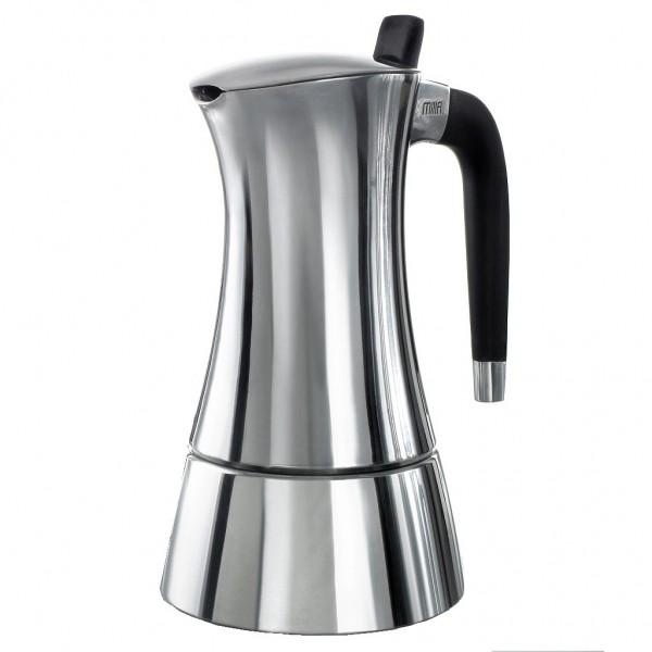 Casa Bugatti - Espresso- Kocher Maschine Zubereiter Mokka Milla 3 Tassen 53-1093