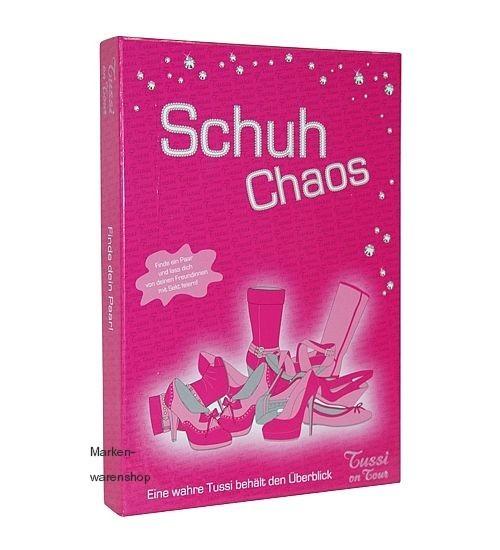 """Tussi on Tour - Memory """"Schuh Chaos"""" (10538601(1)) Spiel Paryspiel Trinkspiel"""