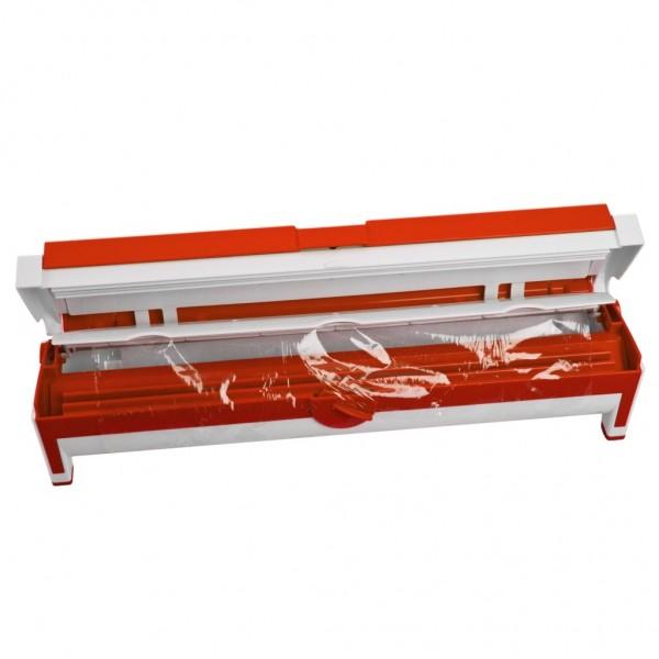 Genius - Folienspender Folienschneider Folienhalter rot 15111