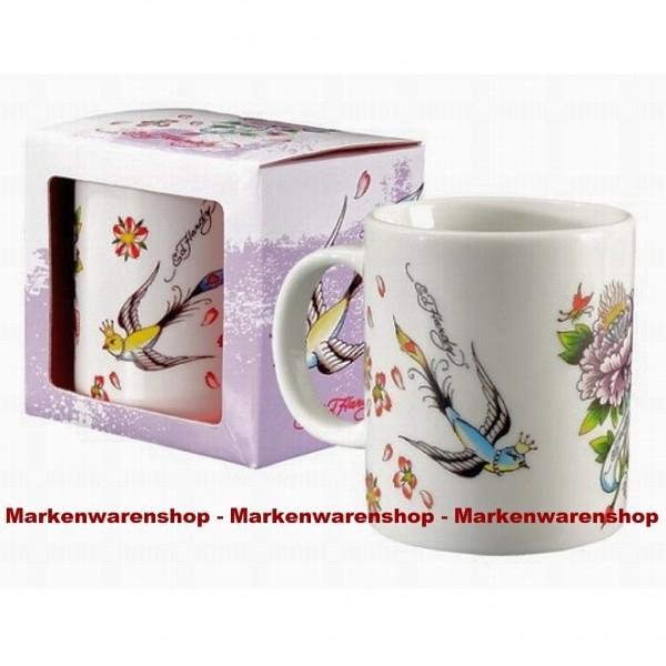 Top Angebot 20x Ed Hardy - Tasse, Kaffetasse, Sparrow, 25209