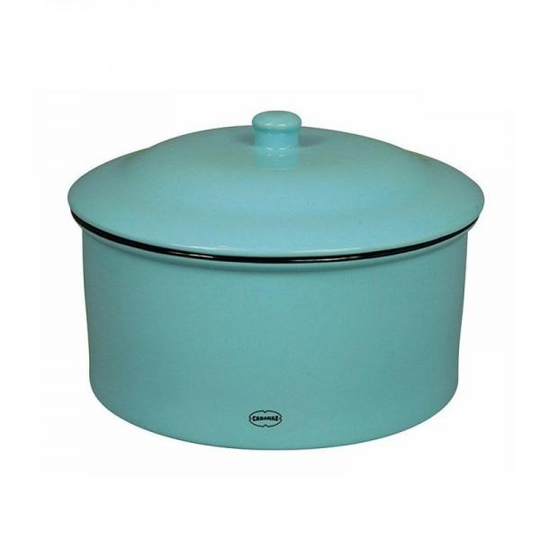 Cabanaz - Keksdose Keramik Blau (1201675) luftdicht Dose Gebäckdose Vorratsdose
