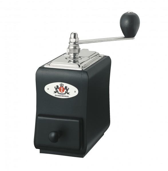 """Zassenhaus - Kaffeemühle """"Santiago"""" schwarz 040104 Handkaffeemühle Espressomühle"""