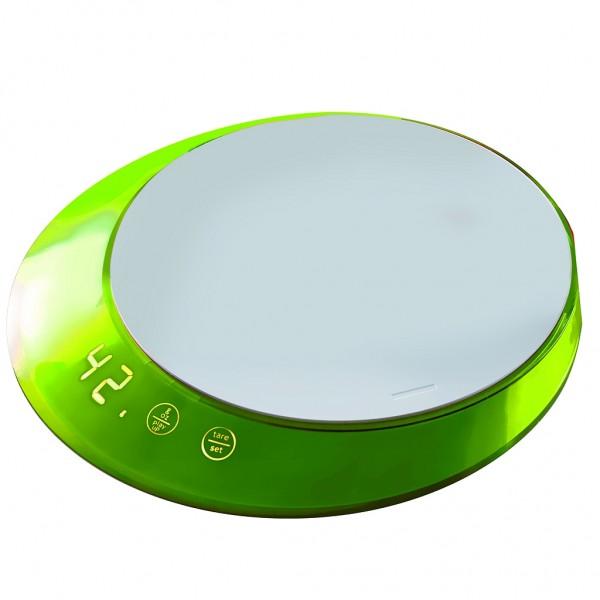 Casa Bugatti - Küchenwaage digital, Waage, grün