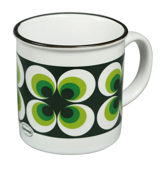 Cabanaz - Teetasse Kaffeetasse Ramona grün 1201511