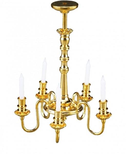 Reutter Miniaturen - Kronleuchter 5-armig 1.891/0 Lampe Deckenlampe Puppenstube