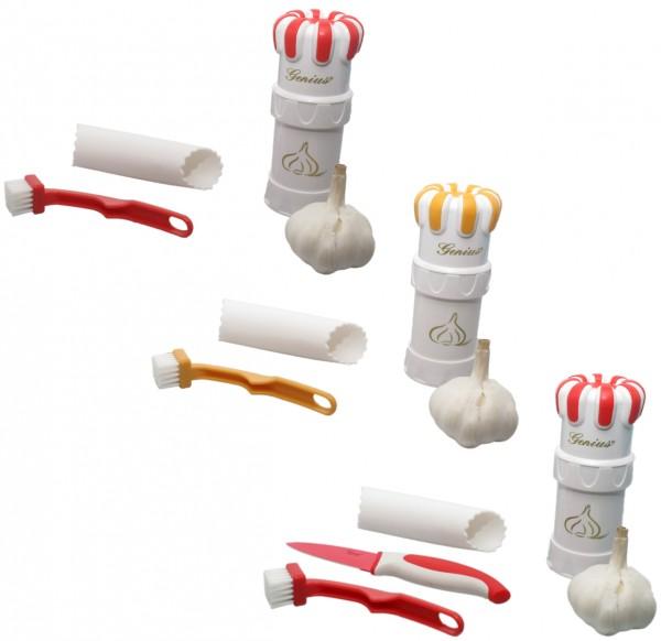 Auswahl - Genius Knoblauchschneider G5 Knoblauchschäler Knoblauchpresse