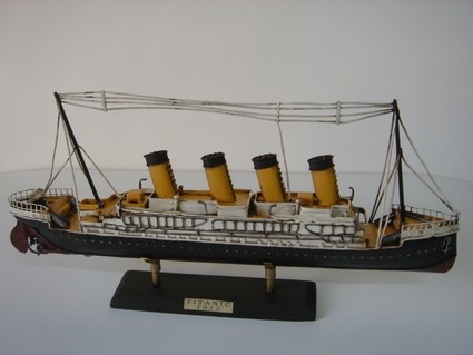 Nitsche - Nostalgie Blechmodell Titanic 48cm Boot 37900-949