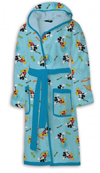 OVP Disney Mickey Mouse - Kinder Bademantel Kaputze Morgenmantel 14-16 Jahre