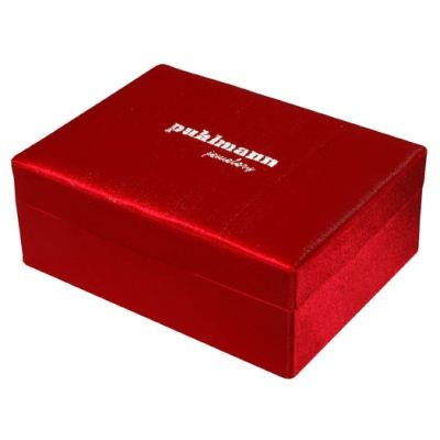 Cabanaz - Schmuckkästchen Schmuckbox Schmuckkasten, Rot