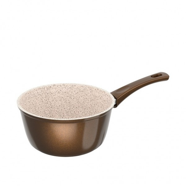 Genius - Cerafit Granit Stielkasserolle Ø18 Keramik-Töpfe Kochtopf 24152